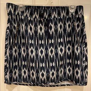 Athleta Women's Blue & White Skirt Skort M